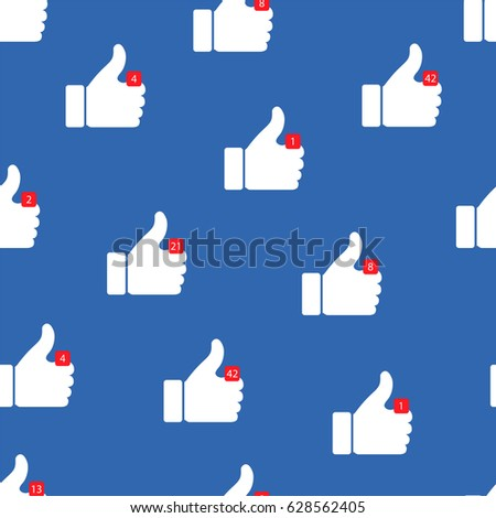 thumbs up icons vector