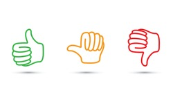 thumbs up set