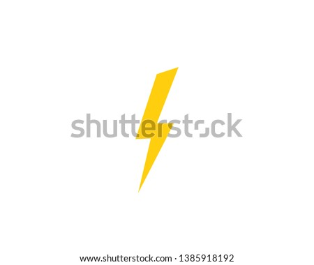 Electric Lightning Bolt Vector - Download Free Vector Art