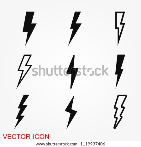 Thunder Bold Lightning Flash icons