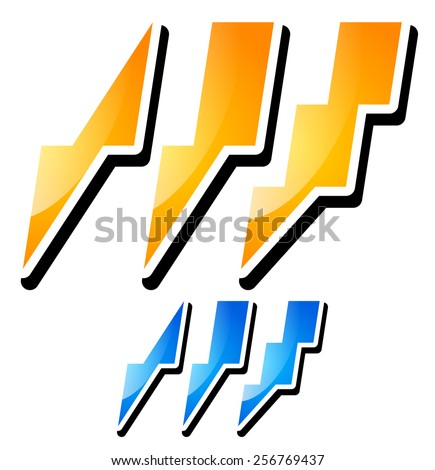 thunderbolt  lightening icons