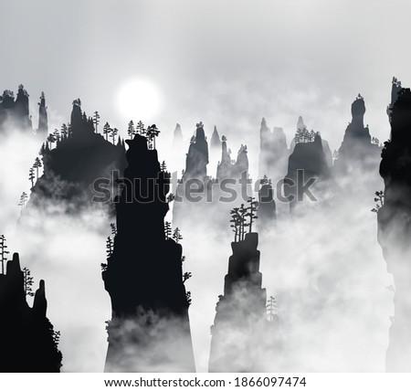 tianzi mountains  avatar