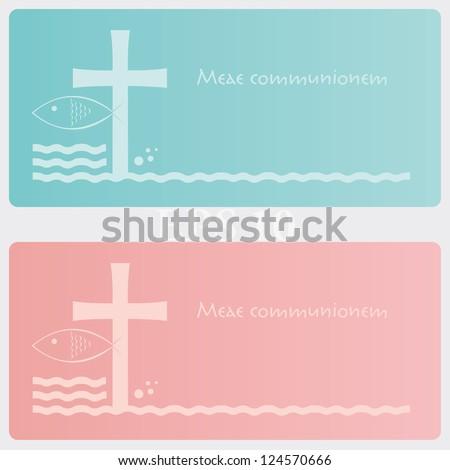 Ticket invitation for religious ceremony