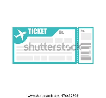 Kostenlose Flugticket Boarding Pass Vektor Kostenlose Vektor