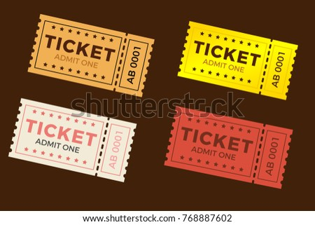 ticket stub image