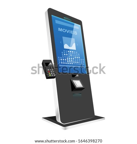 tickets kiosk with terminal
