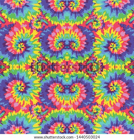 Tie Dye colorful abstract Background