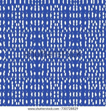 Tie Dye Pattern Japanese Print Batik Texture Vector Seamless Motif