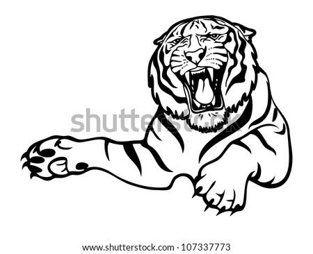 tiger attack   vector