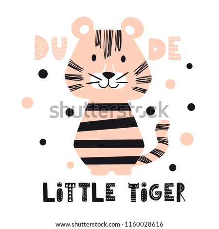 tiger baby cute print sweet