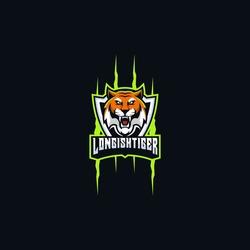 tiger esport logo gaming mascot ilustration