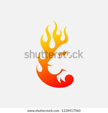 Tiger Fire Logo #1228417060