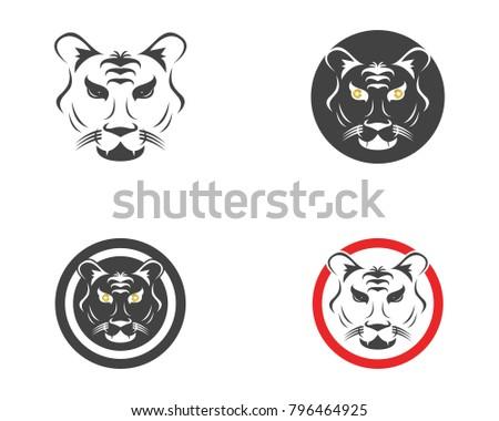Tiger Head Logo Design Template EZ Canvas