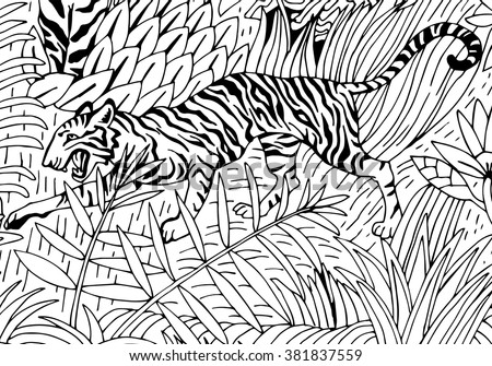 Amazon Rainforest Coloring Pages At Getdrawings Free Download