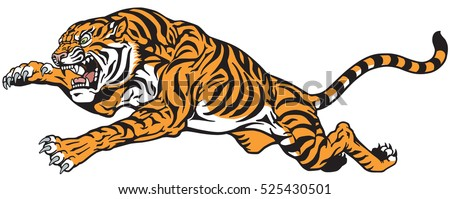 Tiger Head Vector Illustration 123freevectors