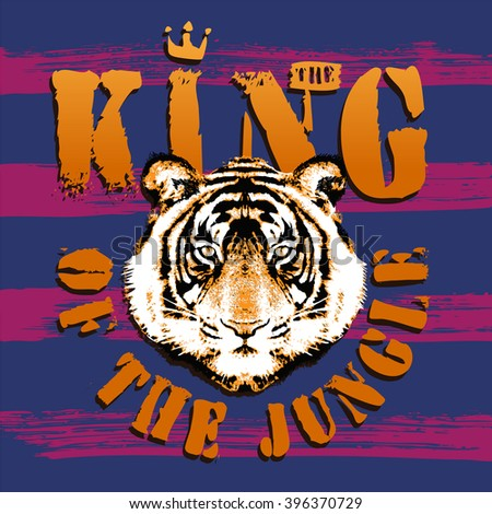 tiger king of the jungle