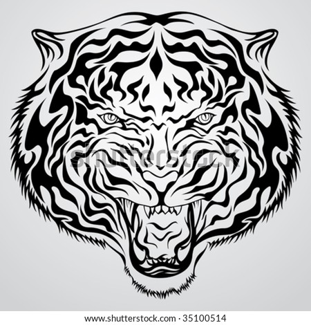 tiger tattoo art. 07/tribal-tiger-tattoo-art