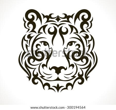 tiger tattoo illustration