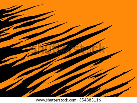 tiger texture abstract