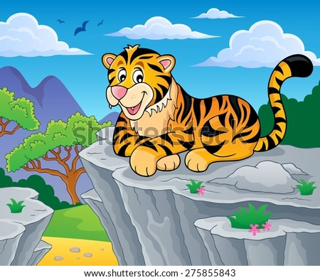 tiger theme image 2   eps10