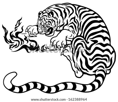 Smile Yogurt in addition Anatomy ofthe heart as well Livestock further Consider Spring D er System Figure X T Represents Displacement End Spring Equilibrium Po Q10721777 furthermore Stock Vector Tiger With Fire Black And White Tattoo Illustration. on front view