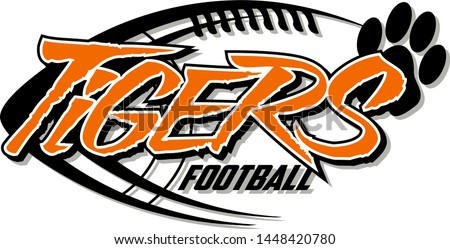 tigers football team design