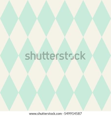 tile vector pattern or mint