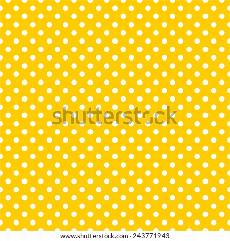stock-vector-tile-vector-pattern-with-white-polka-dots-on-yellow-background