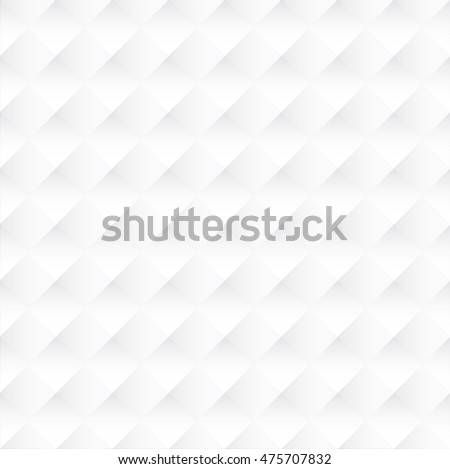 Tileable 3D modern recurring design techno textural fond of gray celluar plastic grid. Trendy extruded bulging tracery paper