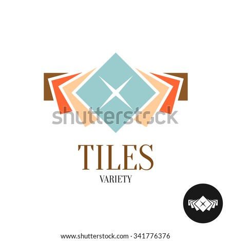 tiles variety logo row of the