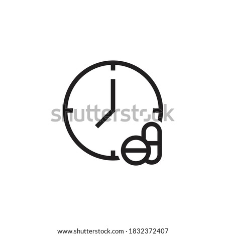 Time capsule icon design isolated on white background Сток-фото ©