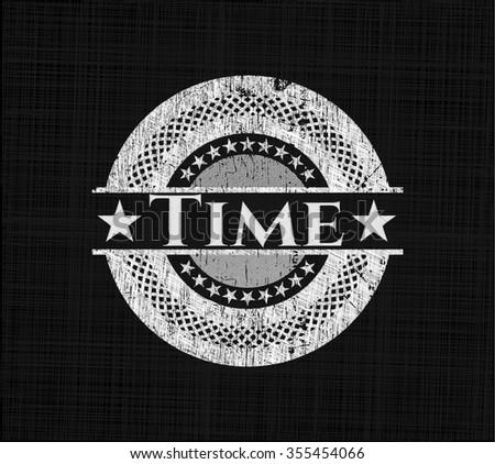 Time chalk emblem