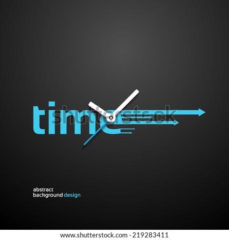 Time Concept background design
