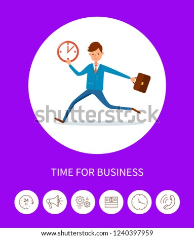 time for business  businessman