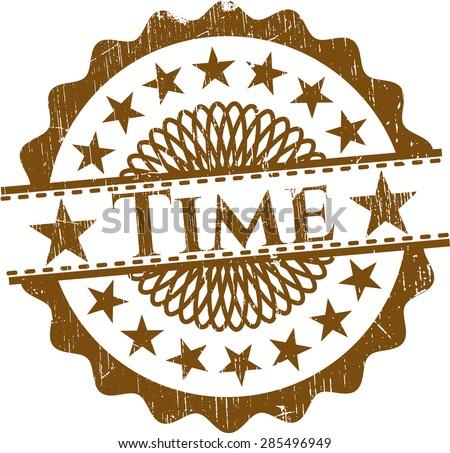 Time grunge seal