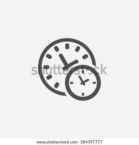 time icon time icon vector