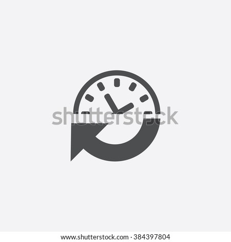 time icon time icon vector