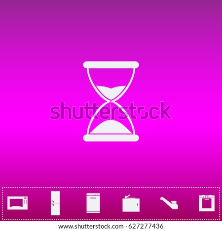 time icon vector flat simple