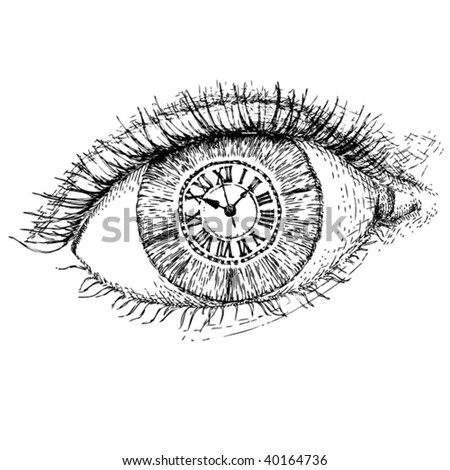 time in the eye