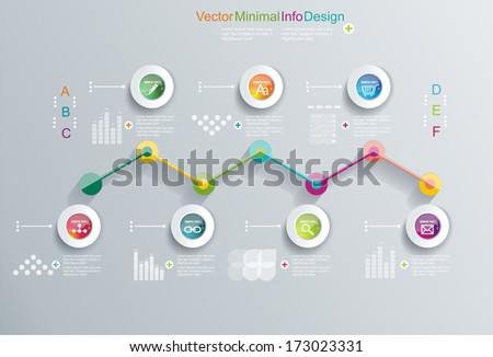 Time Line design template with diagram set Idea to Display information Steps for industrial factory Ranking and statistics
