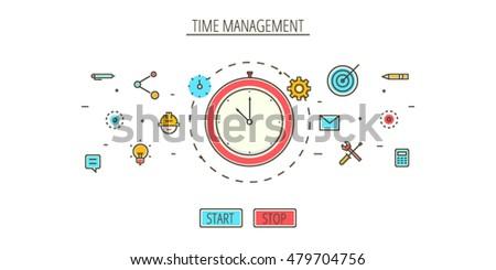 time management  managing  work