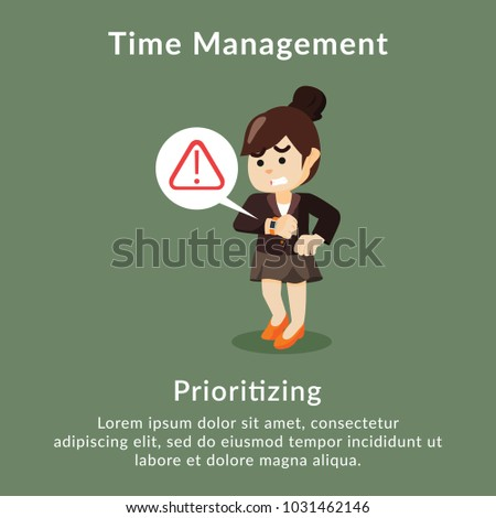 Time management prioritizing description
