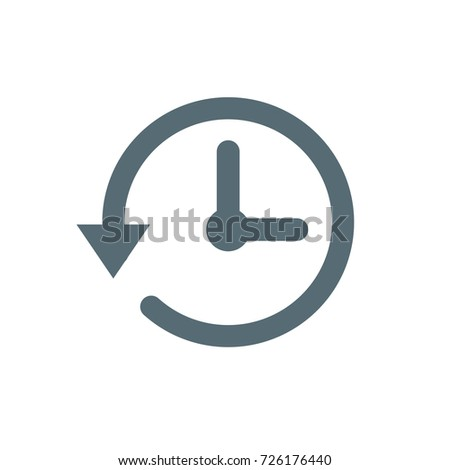 time minutes thin line icon duration length Icon symbol clock design vector template timer, watch, timepiece. Vector Illustration Set web icon watches Foto stock ©