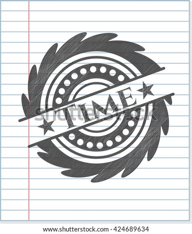 Time pencil effect