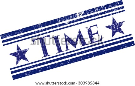Time rubber grunge seal