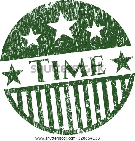 Time rubber texture