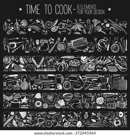 time to cook   set elements for