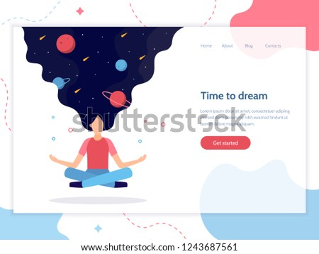 time to dream web banner