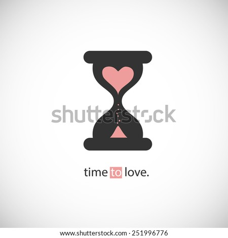 time to love  hourglass