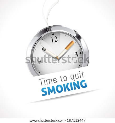 time to quit smoking